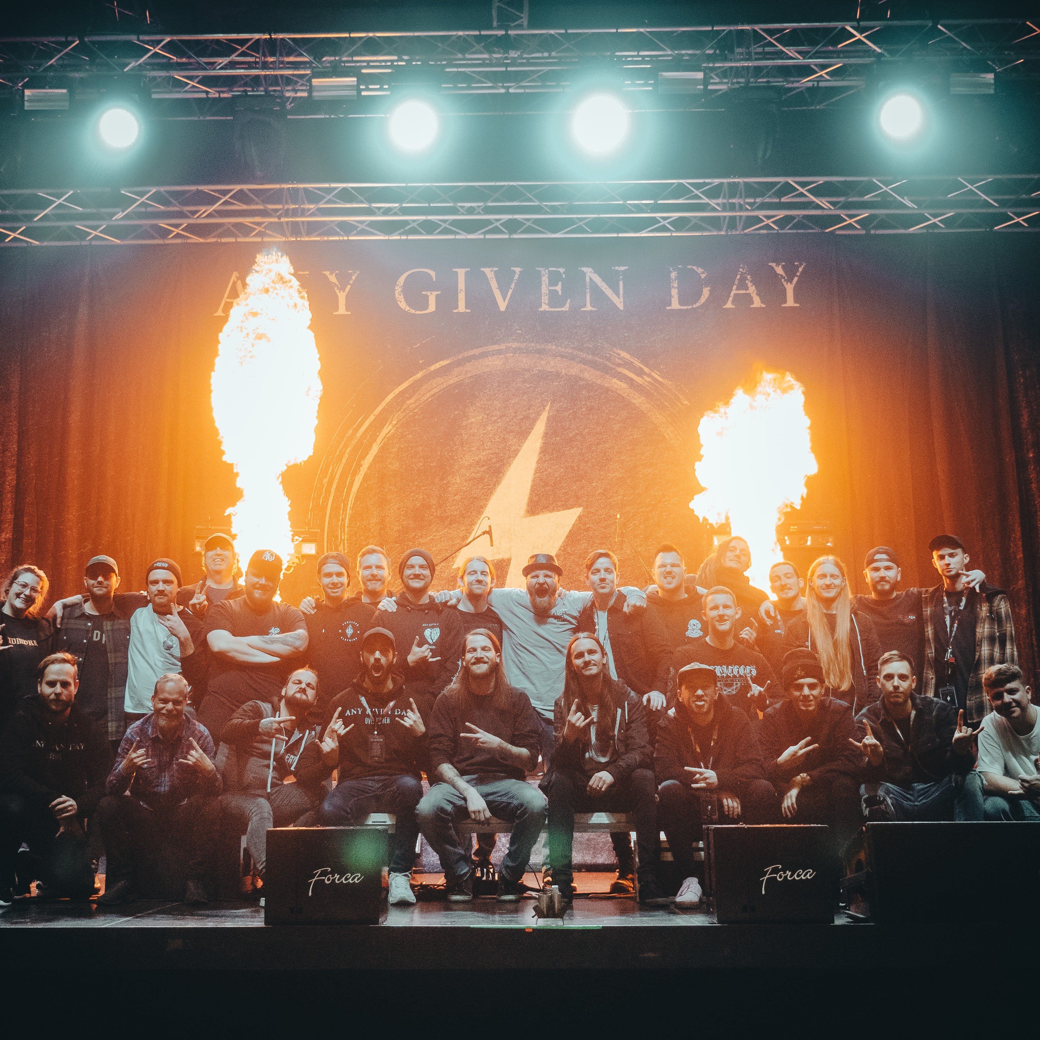 Any Given Day Overpower Tour 2019